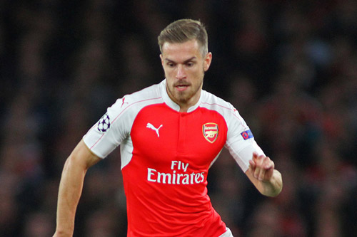 aaron ramsey arsenal