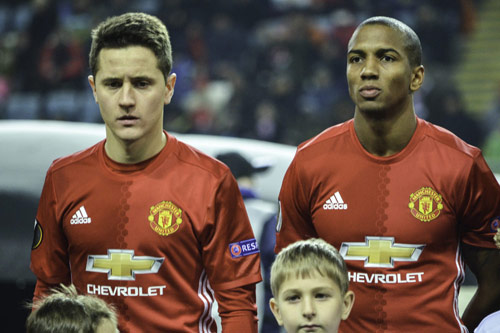 ander herrera 2017 ashley young