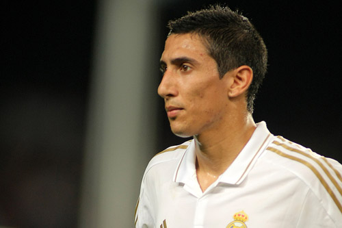 angel di maria real madrid