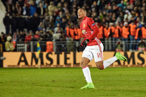 anthony martial 2018