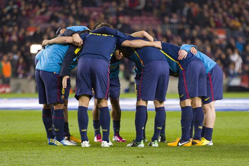 barcelona team 2018