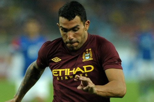 carlos tevez man city