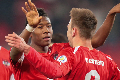 david alaba andreas weimann