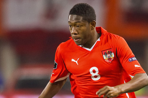 david alaba austria action