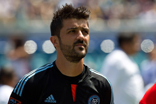 david villa new york city