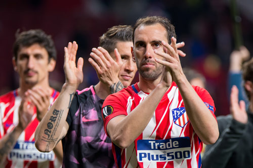 diego godin atletico madrid team