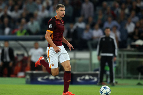 edin dzeko as rom 2