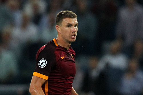 edin dzeko as rom