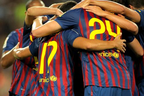 fc barcelona jubel 2