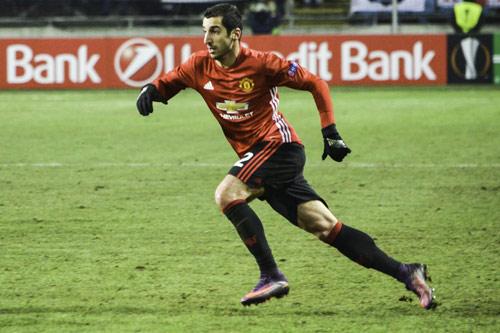 henrikh mkhitaryan manchester united 16