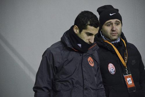henrikh mkhitaryan manchester united 5