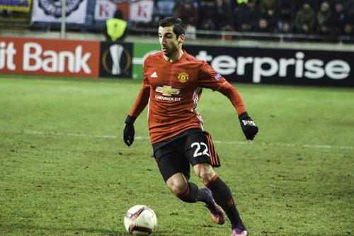 henrikh mkhitaryan manchester united 6
