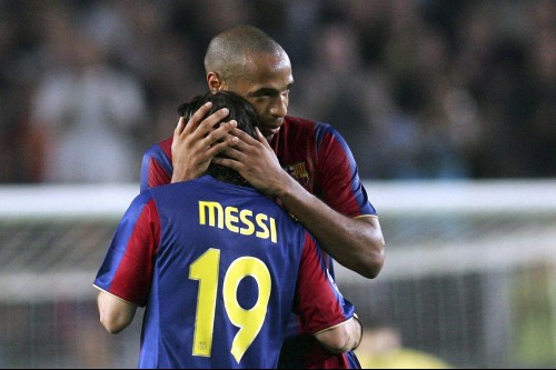 imago thierry henry lionel messi 210921