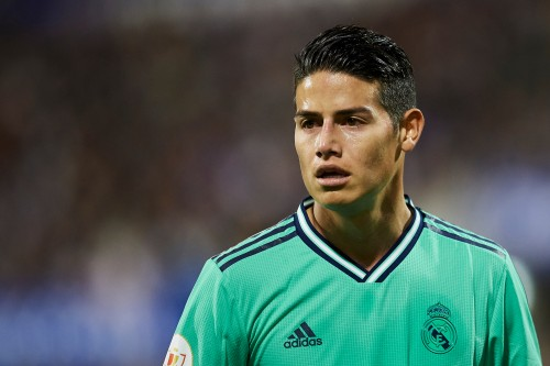 james rodriguez 2020 real madrid