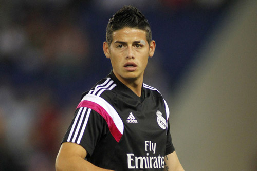 james rodriguez real madrid 11