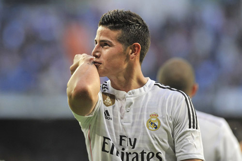 james rodriguez real madrid 2016