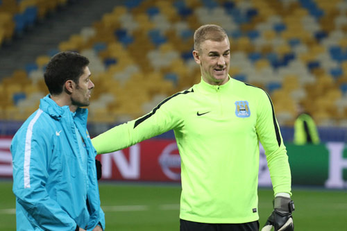 joe hart manchester city 2016 2