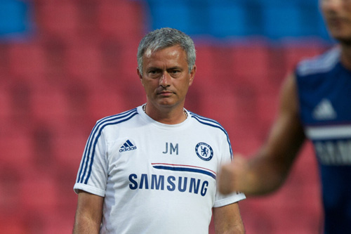 jose mourinho training 5