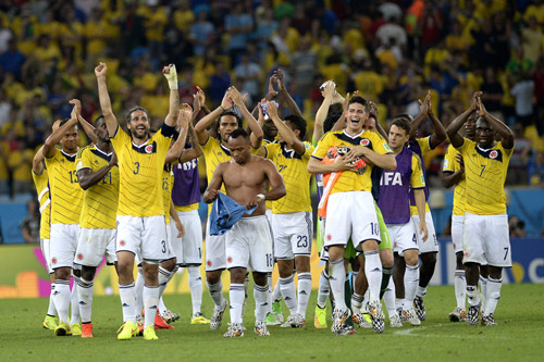 kolumbien team