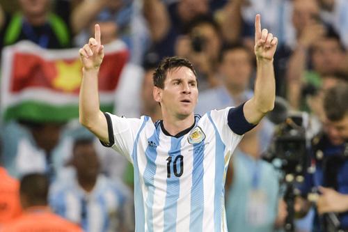 lionel messi argentinien jubel