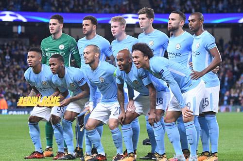 manchester city team 2018 201