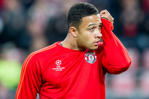 memphis depay manchester united 7