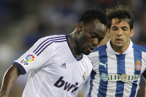 michael essien real madrid