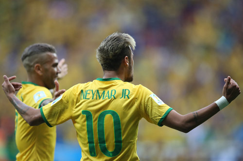 neymar selecao 2016 dani alves