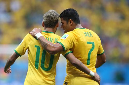 neymar selecao 2016 hulk