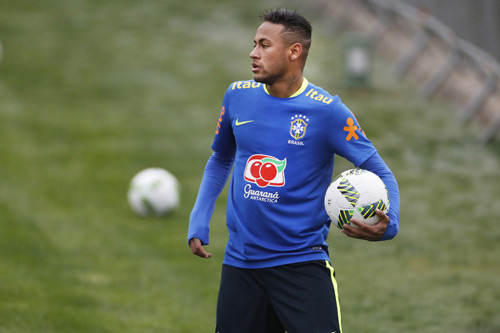 neymar selecao 2017