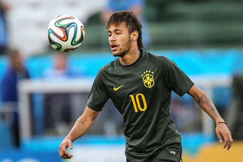 neymar selecao training 3