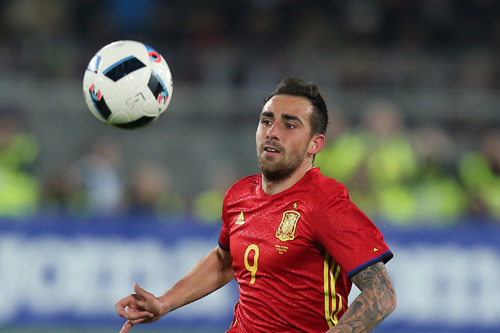 paco alcacer spanien 2017