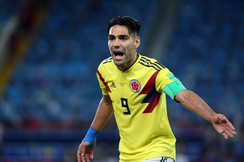 radamel falcao kolumbien 2018
