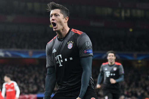 robert lewandowski 2018