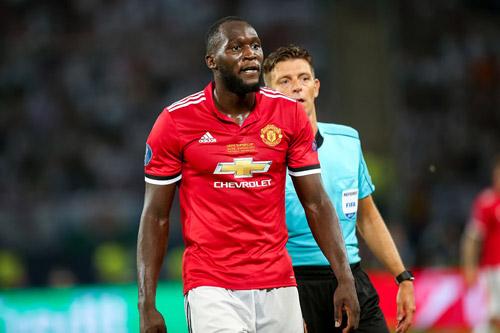 romelu lukaku manchester united 2018 4