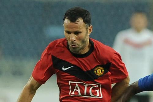 ryan giggs man united 2012