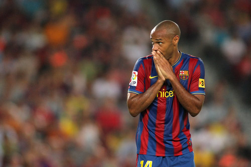 thierry henry fc barcelona skeptisch