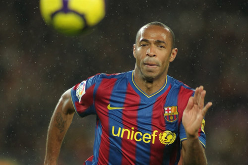 thierry henry fc barcelona sprint