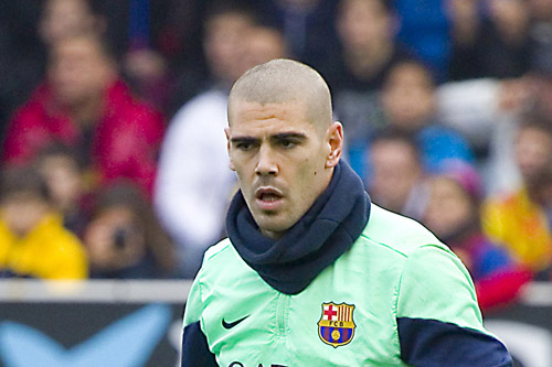 victor valdes training barcelona