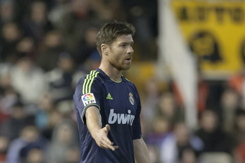 xabi alonso real madrid 7