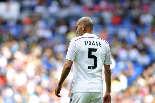 zinedine zidane real madrid 4