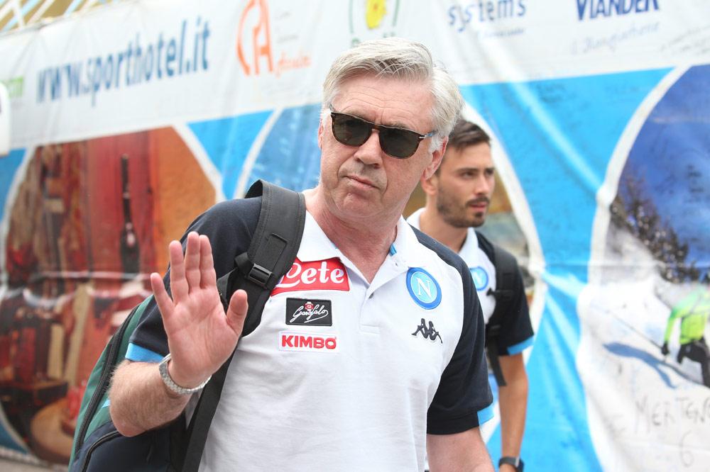 Carlo Ancelotti spricht über Neapels Transferziele