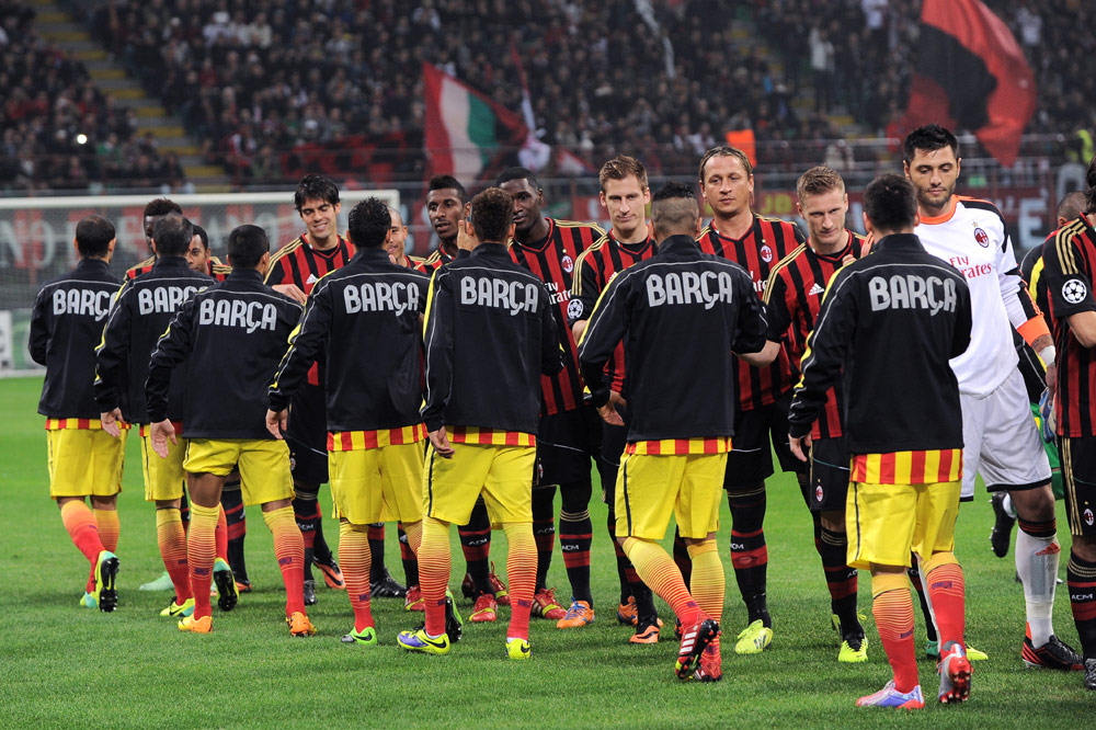 Mailand Barcelona