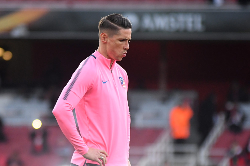 Fernando Torres bei Atletico Madrid befördert