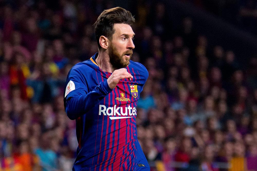 Barcelona Fc Foto >> FC Barcelona: Leo Messi glänzt - und knackt eigenen Rekord