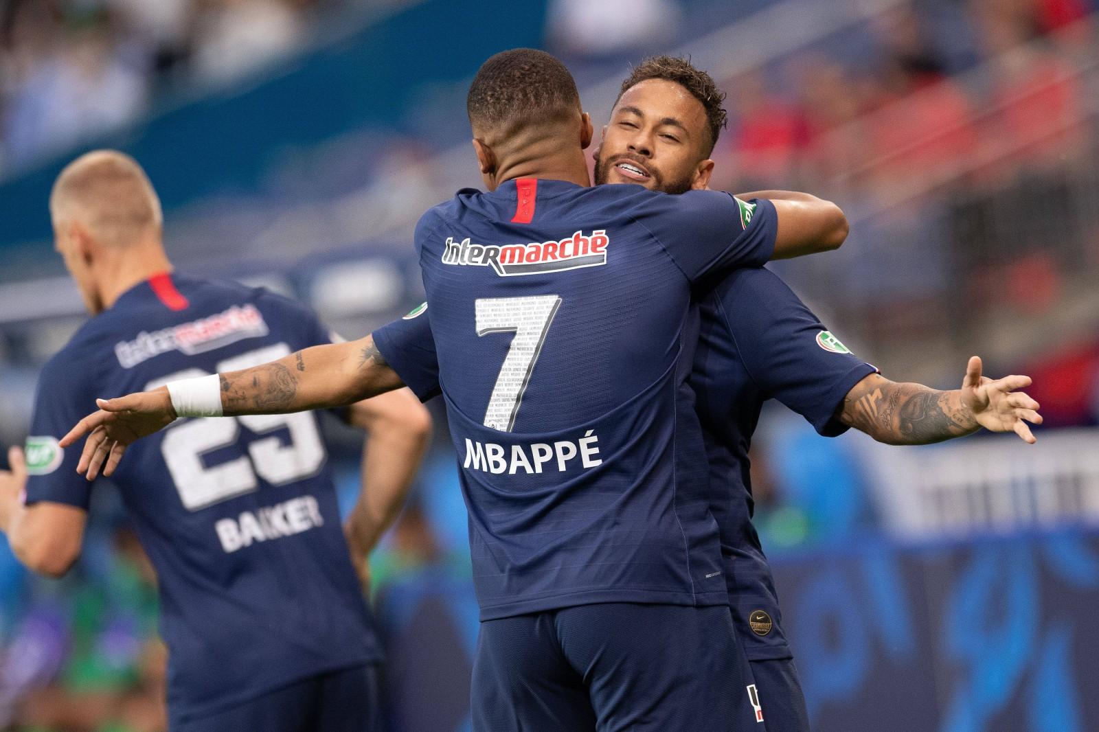 Mbappe Neymar