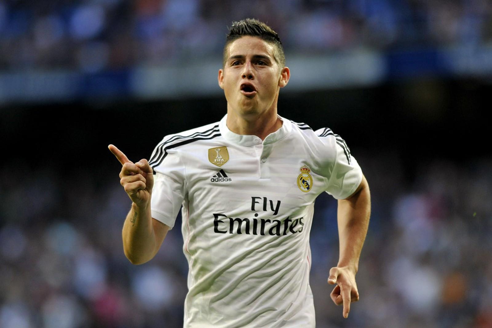 Real Madrid James