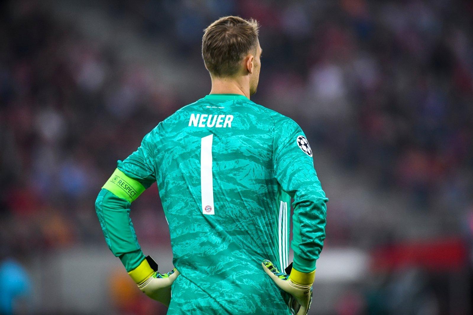 Fc Bayern Manuel Neuer Knackt Rekord Von Oliver Kahn